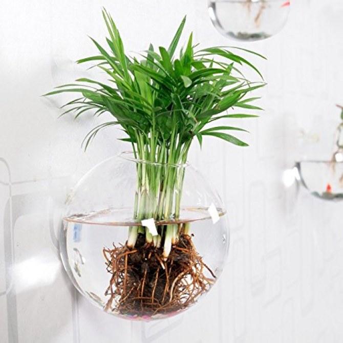 Trendiges Glas zum Befüllen und Aufhängen