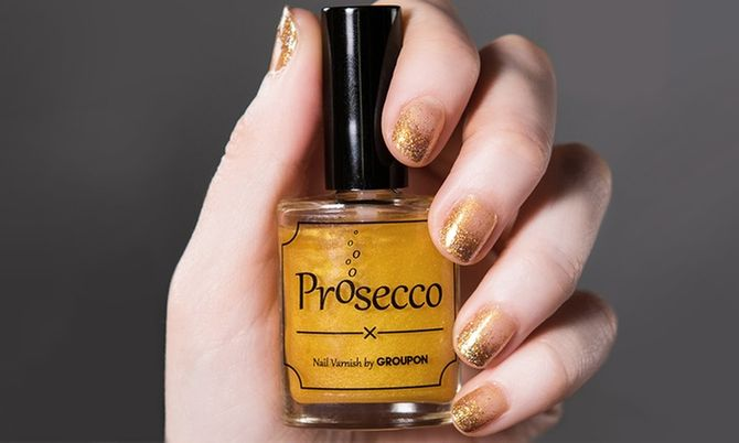 Esmalte de uñas sabor Prosecco