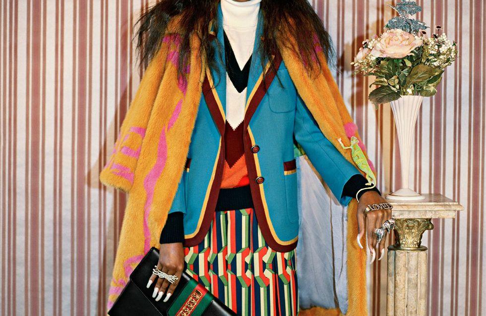 A nova campanha da Gucci conta exclusivamente com modelos negros