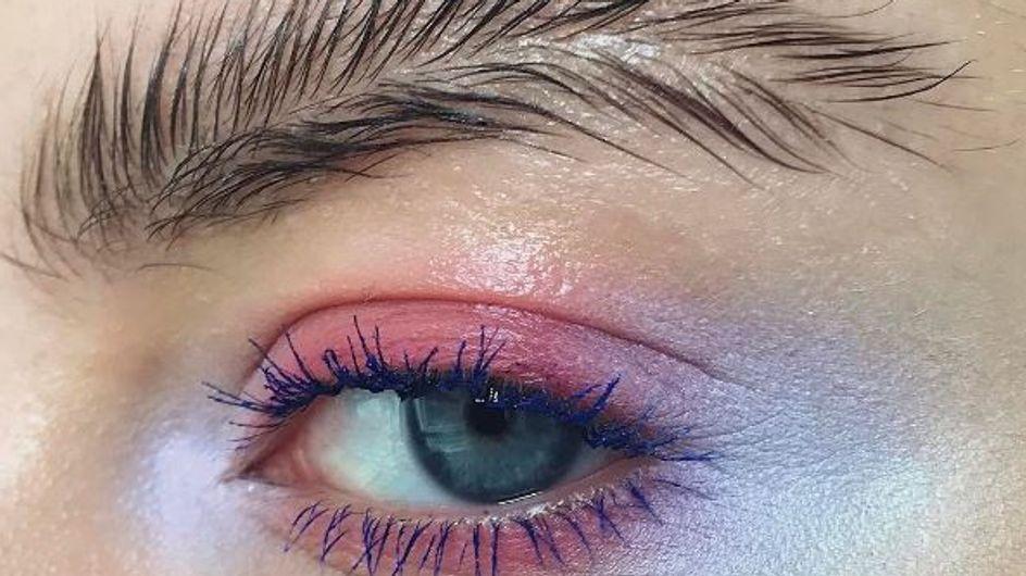 """Les """"sourcils plumes"""" : la tendance WTF du moment (photos)"""