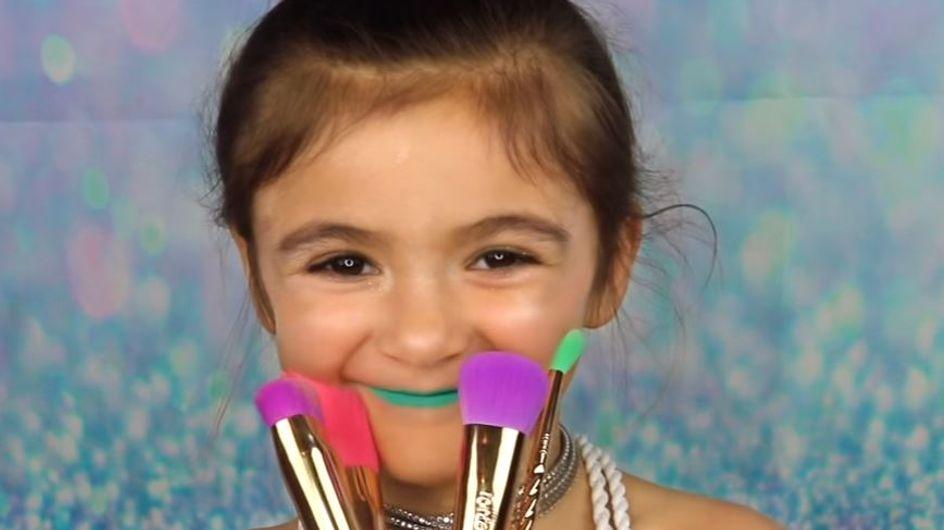 """Cette adorable fillette va vous faire fondre avec son tutoriel """"licorne"""" (vidéo)"""