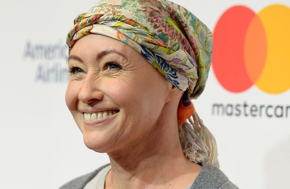 Shannen Doherty a annoncé la fin de son traitement contre le cancer (Photos)