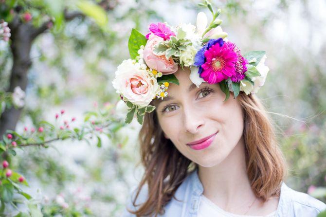 DIY Blumenkranz selber machen