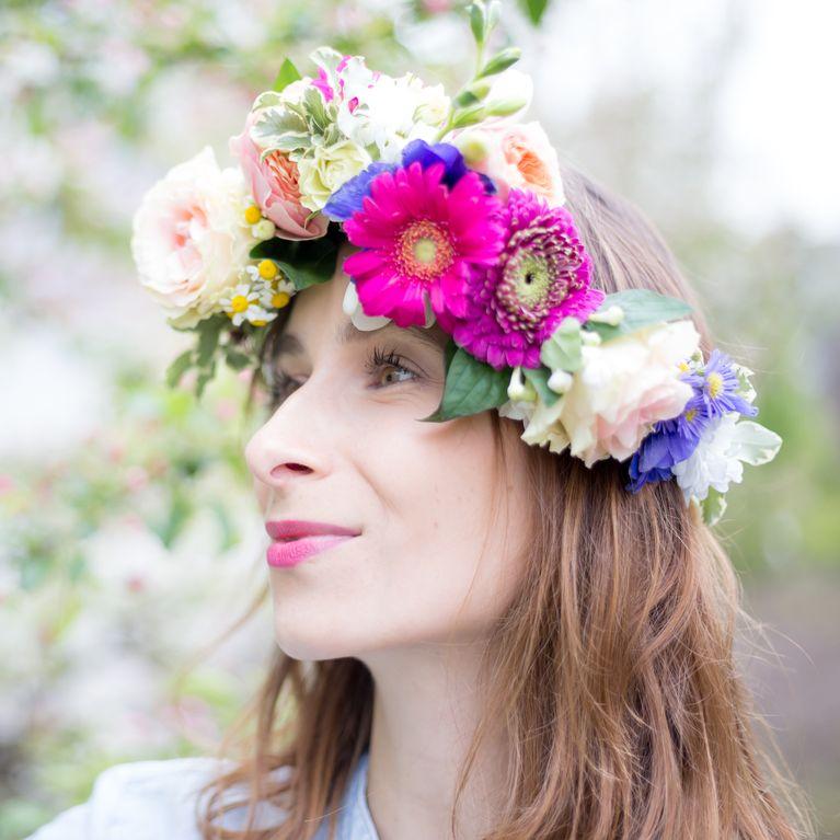 a2e671fe309089 Flower Crown: So einfach machst du einen Blumenkranz selber!