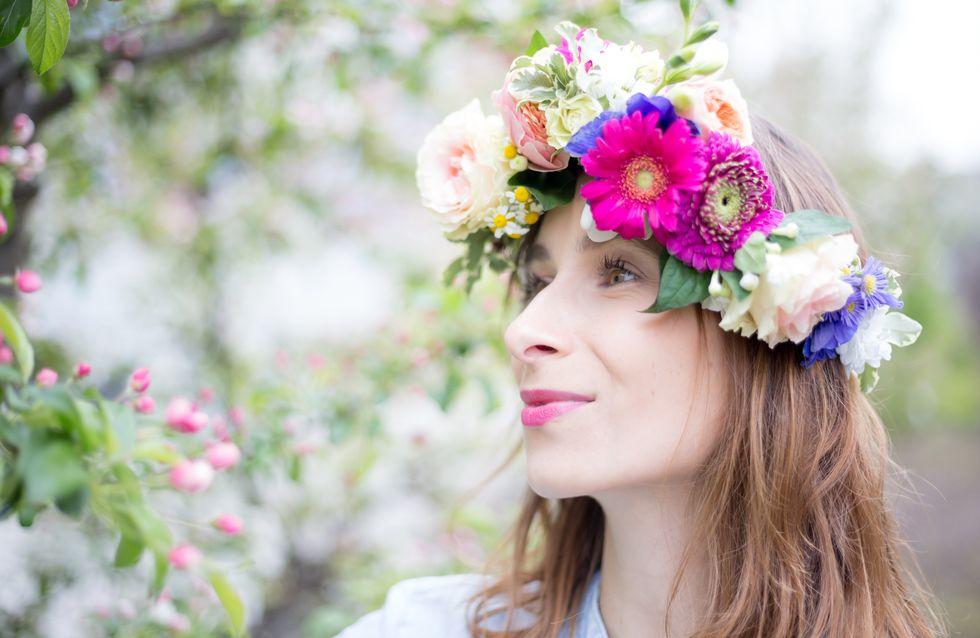 Flower Crown: So einfach machst du einen Blumenkranz selber!