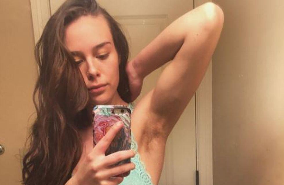 Pour retrouver confiance en elle, cette jeune femme ne se rase plus depuis 2016 (photos)