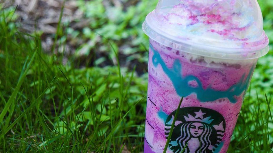 Unicorn frapuccino, posiblemente la bebida más colorida del mundo