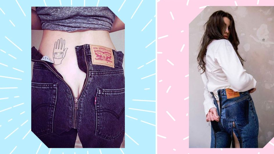 Show your butt: DAS ist der schrägste Modetrend ALLER Zeiten!