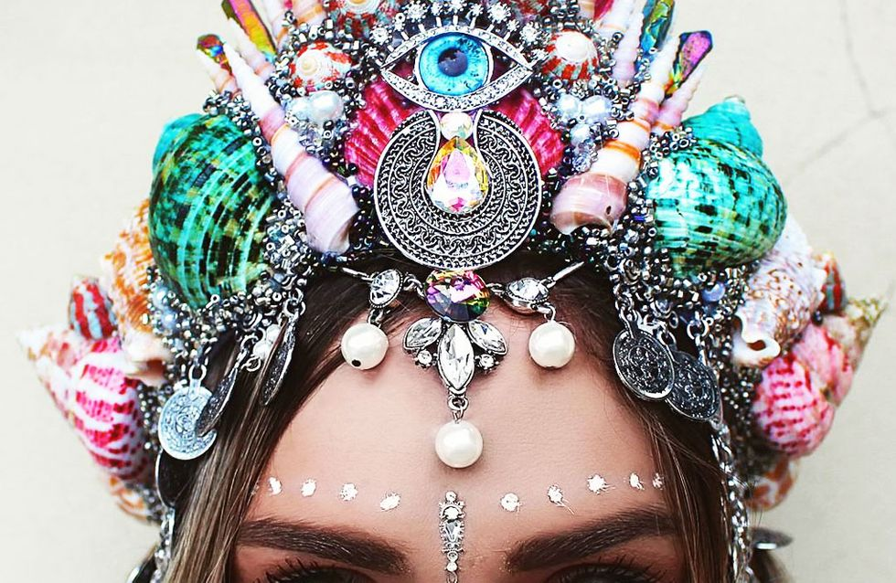 Schockverliebt in Mermaid Crowns: SO bastelst du dir das Trend-Accessoire selber!