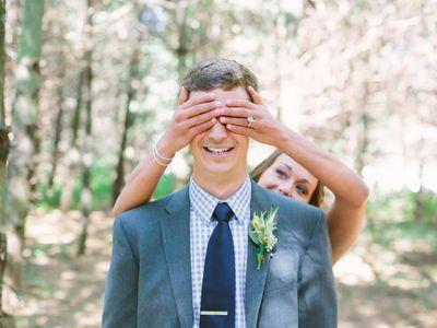 Photo de mariage : le premier regard