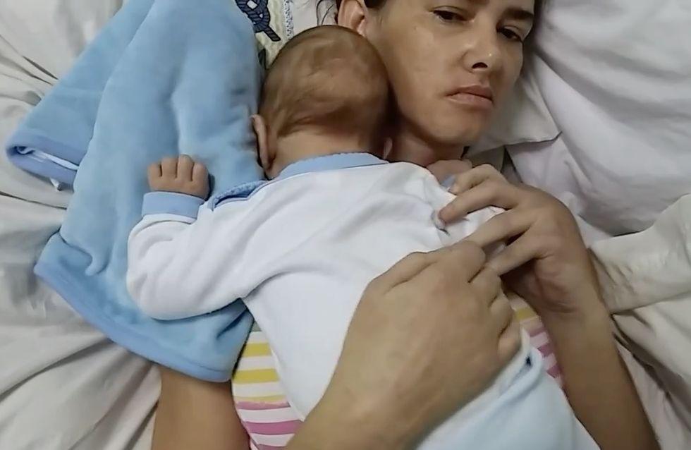 Una mujer da a luz en coma y la despierta su bebé tres meses después