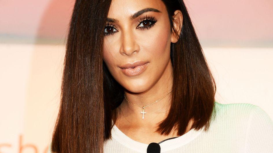 Kim Kardashian dévoile son astuce minceur et on n'adhère pas du tout ! (photos)