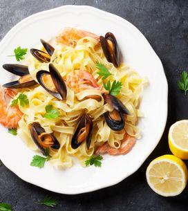 10 recettes de pâtes aux fruits de mer pour faire venir la plage à table...