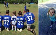 Parade-Beispiel für eine Patchwork-Familie: Diese 4-Jährige hat den wohl genials