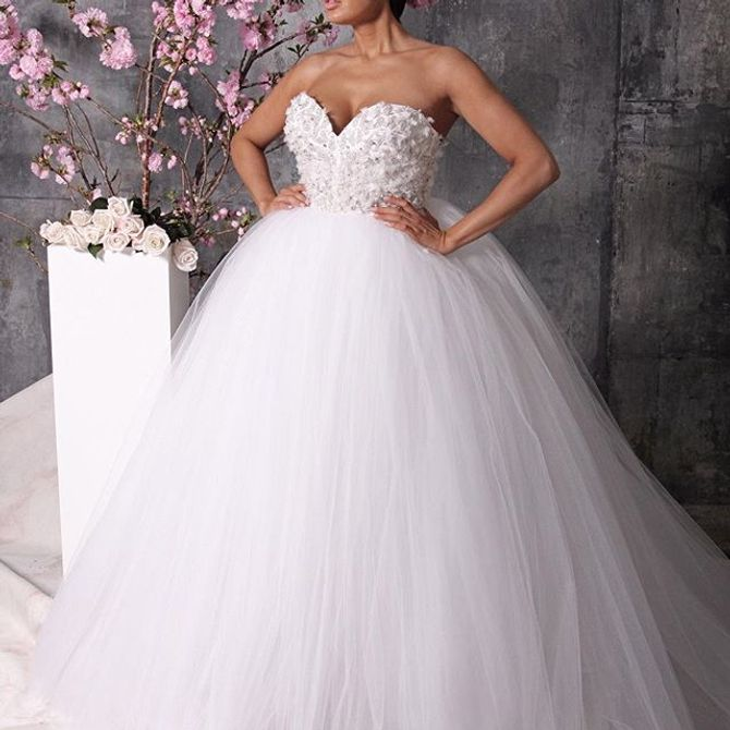 Robe de mariée by Christian Siriano