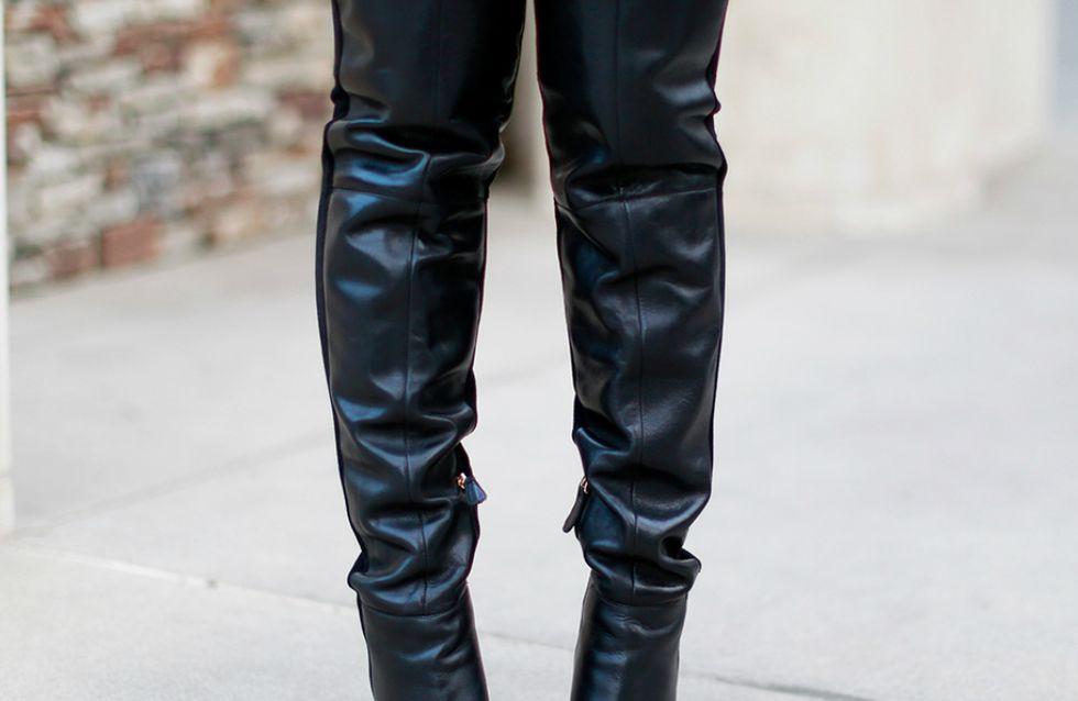 Como usar botas over the knee? Experts em street style dão a letra...