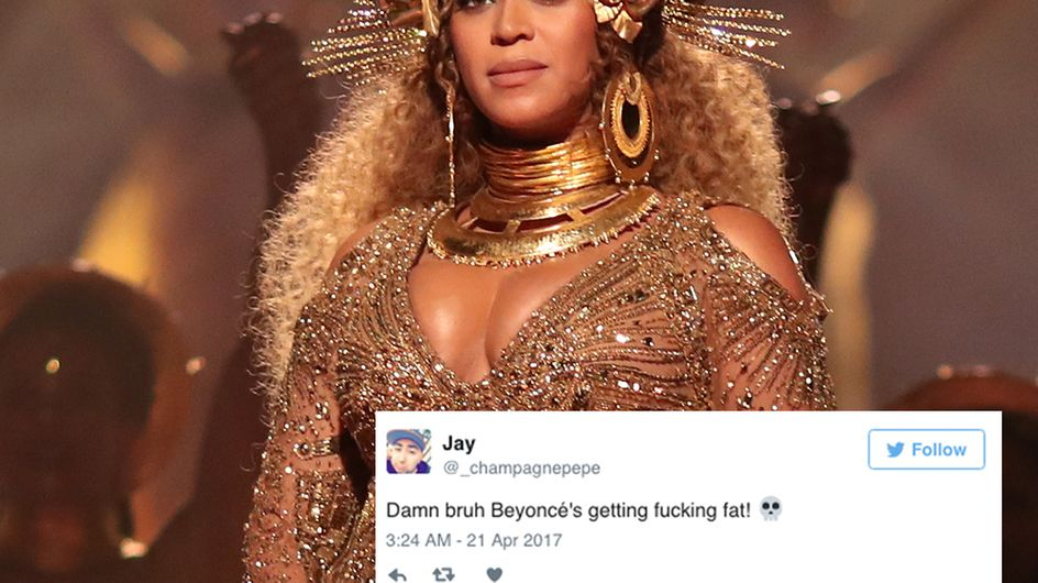 Pregnant Beyonce's Beyhive Swarms To Her Defence After She Was Fat Shamed By Trolls