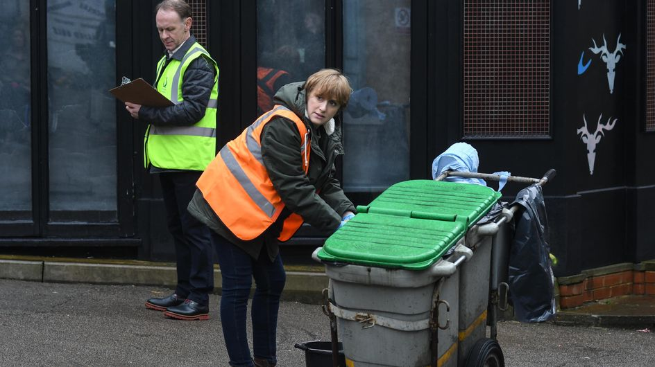 Eastenders 01/05 - Michelle Starts Her Community Service