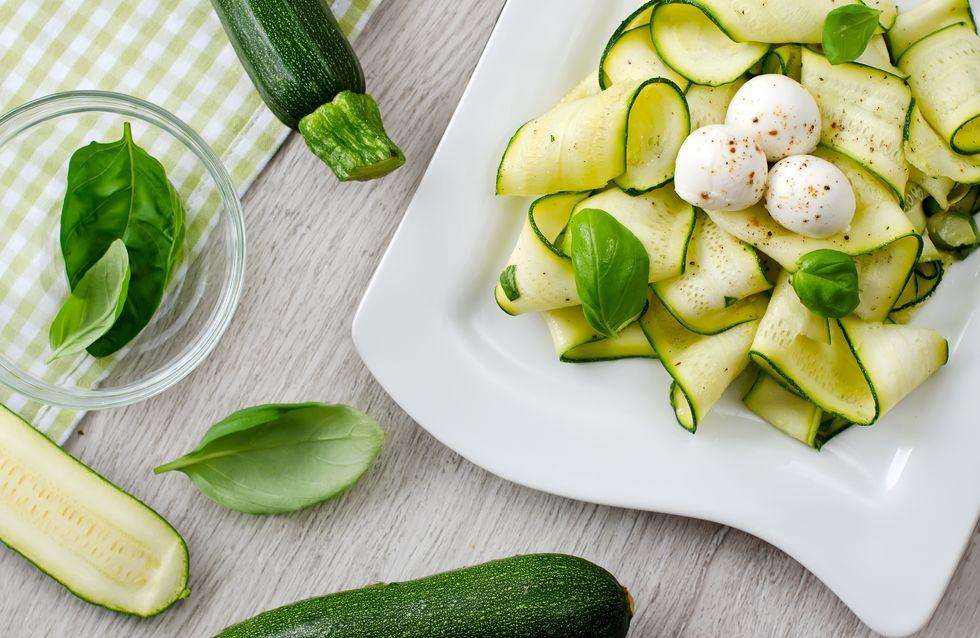 Crue, la courgette en jette ! Recette de salade et autres délices
