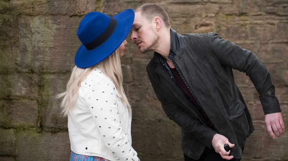 Hollyoaks 04/05 - Kyle Tries To Kiss Nancy