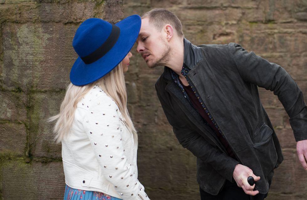 Hollyoaks 04/05 - Kyle Tries To Kiss Nancy