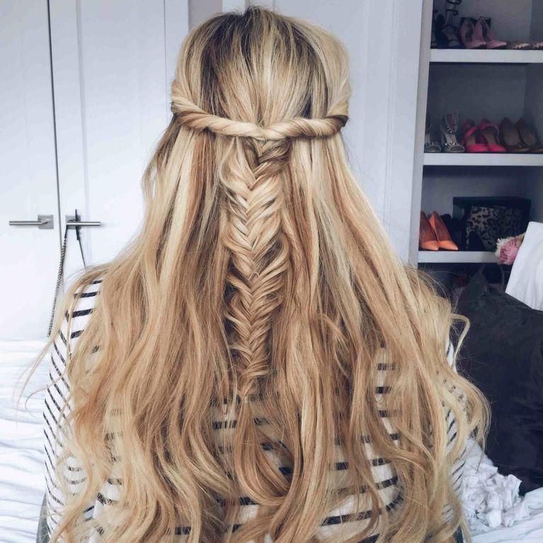 Hair Spiration Gesucht 5 Kreative Frisuren Fur Lange Haare
