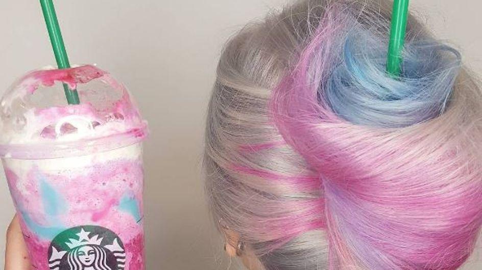 "Quand le Frappuccino ""Licorne"" inspire les beautistas (photos)"