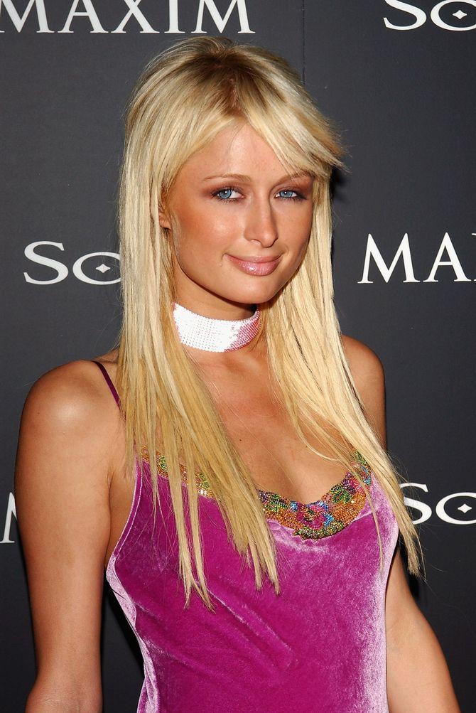 Paris Hilton, grande fan de choker dans les années 2000