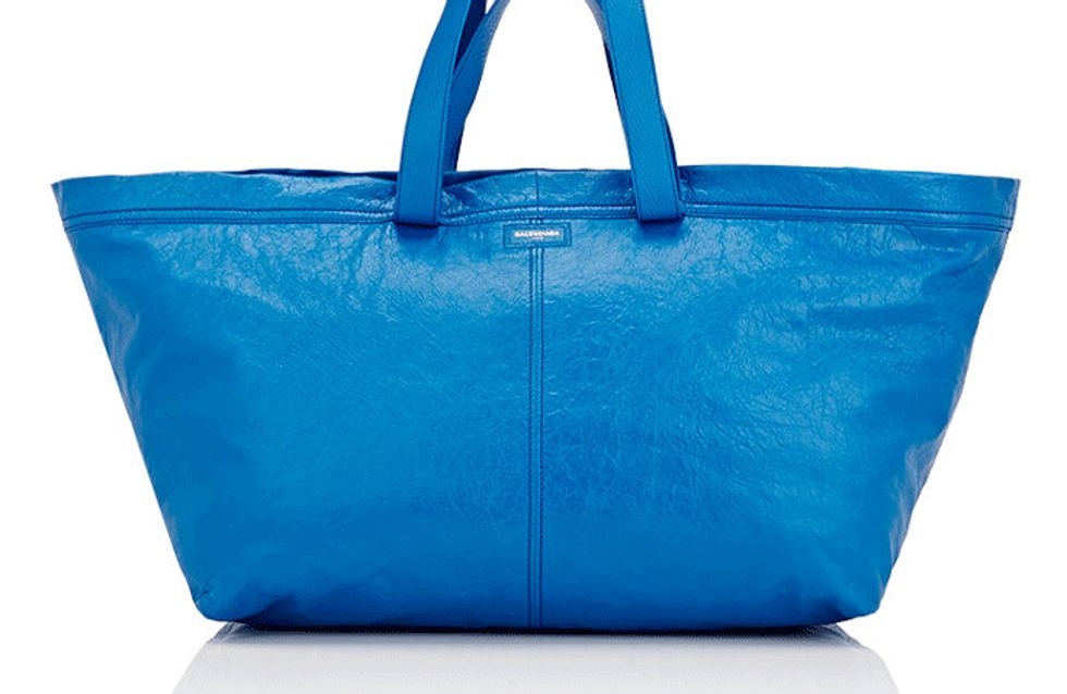 Ikea Have Responded To Balenciaga's Copycat Blue Tote Bag & It's Savage
