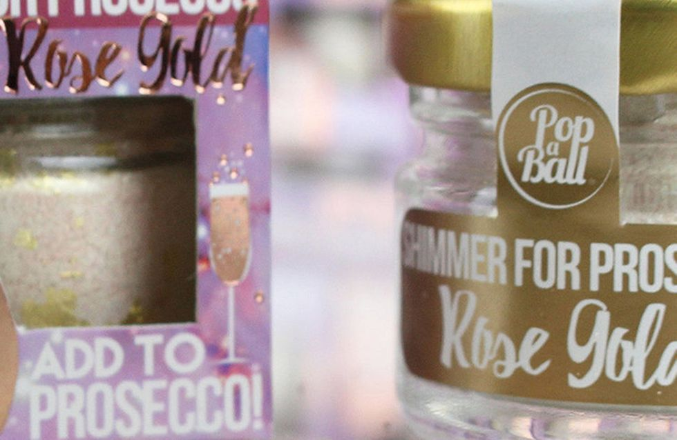 You Can Now Buy Rose Gold Shimmer To Put In Your Prosecco And It Is So Extra