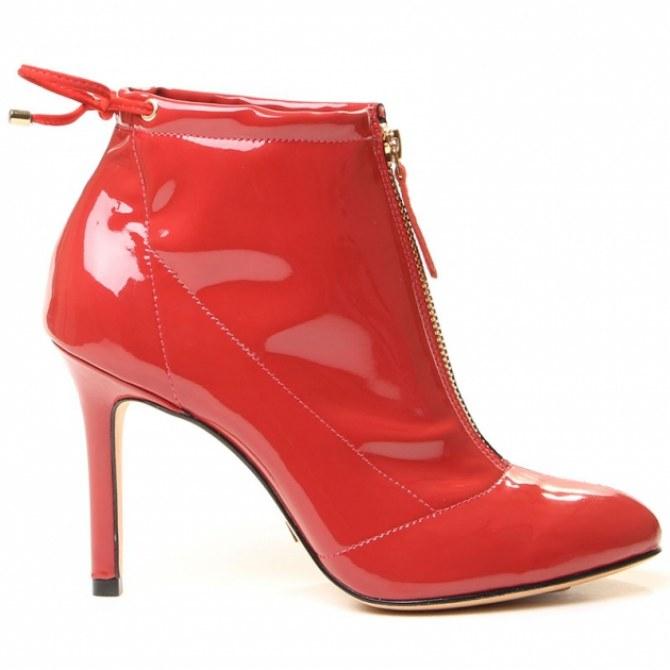 Bota vermelha Vicenza shoes, R$414,90
