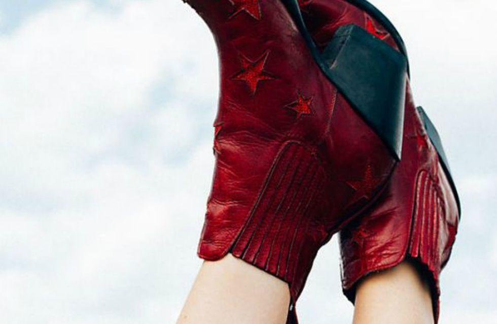 Desejo da vez: bota vermelha