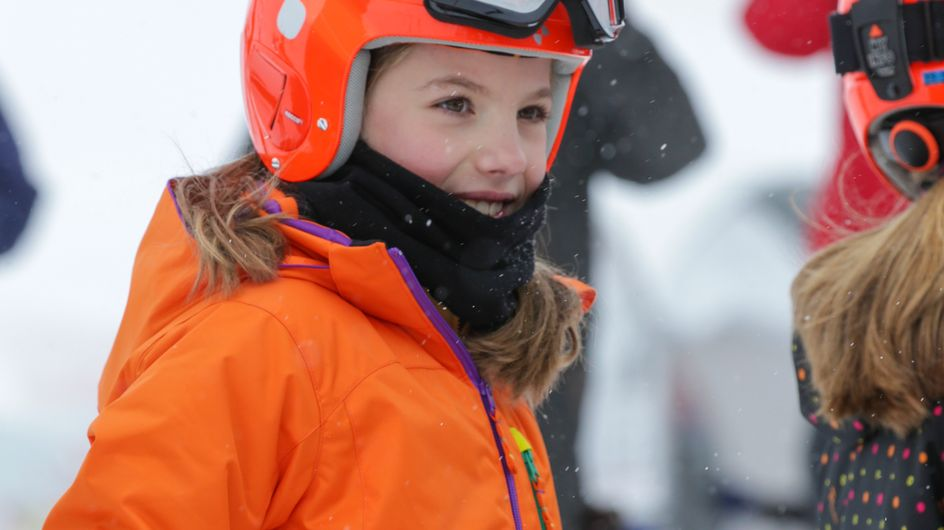 La infanta Sofía cumple 10 años: sus mejores imágenes