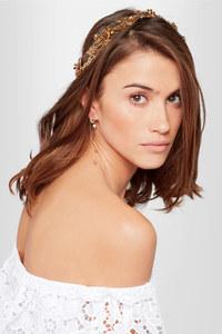 Headband fleuri façon bijou, Jennifer Behr