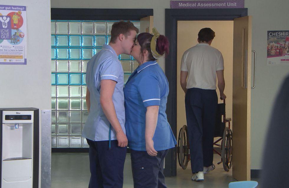 Hollyoaks 10/05 - Zack Spots Nick And Tegan Kissing