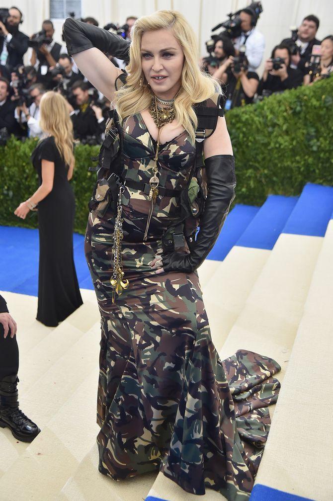 Madonna en Moschino