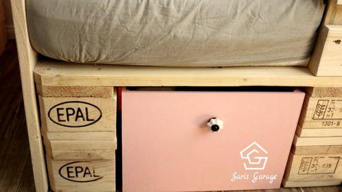 DIY-Kinderbett aus Paletten einfach selber bauen