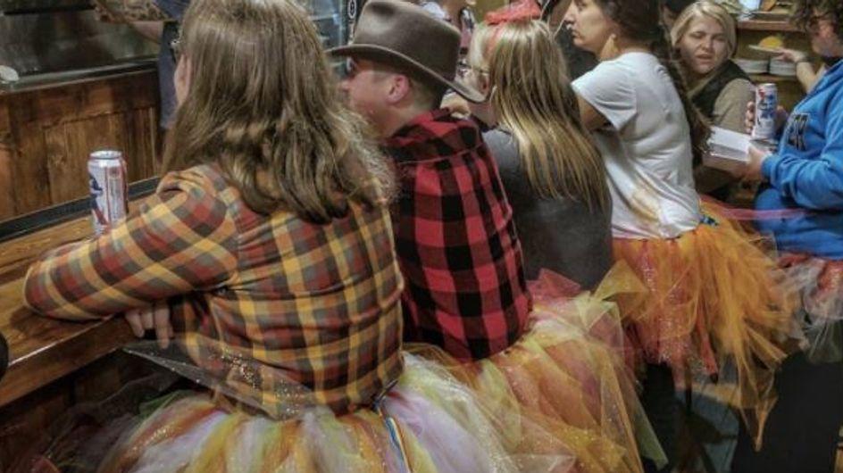 Des tutus contre les propos homophobes d'un sénateur du Wyoming