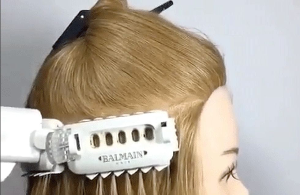 This Balmain Hair Gadget Can Apply Extensions in Thirty Five Seconds Flat