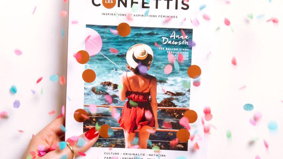 """Rencontre avec Perrine Bonafos, fondatrice du magazine """"Les confettis"""""""