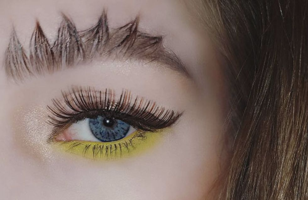 Dragon Brows Are The Spiky New Trend And Yes, They're Taking Over Your Insta