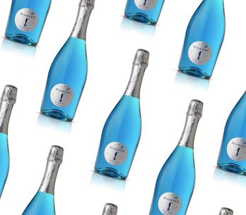 Blue Prosecco Is Soon To Be A Thing And We're Not Sure How We Feel About It