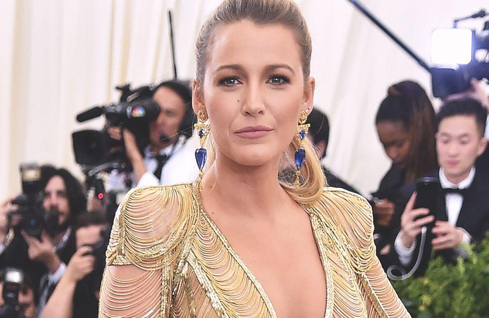 Blake Lively y su maravilloso vestido de sirena en la gala del MET 2017