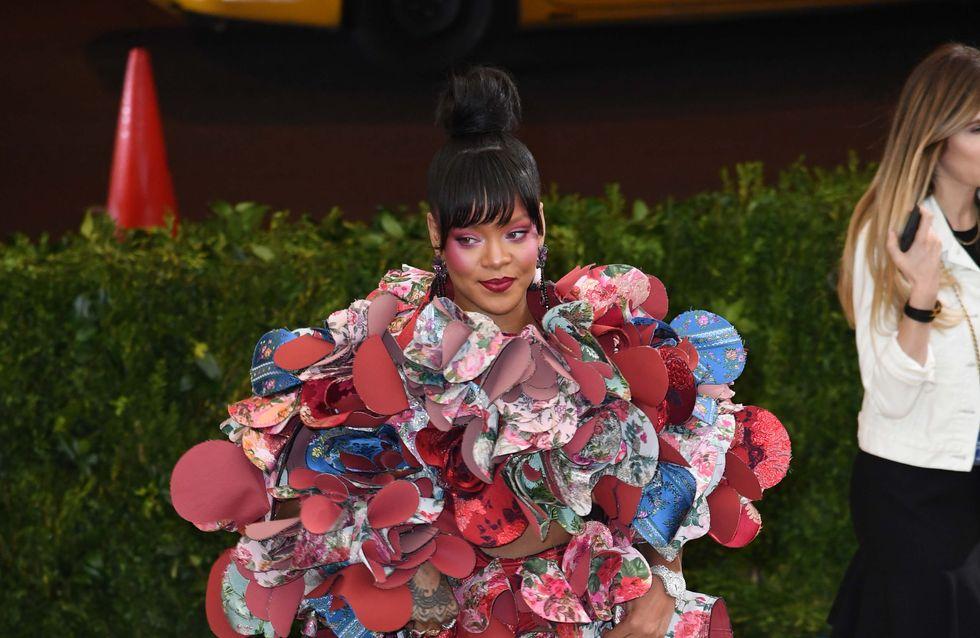 Rihanna y su oda a las flores, peor look de la semana