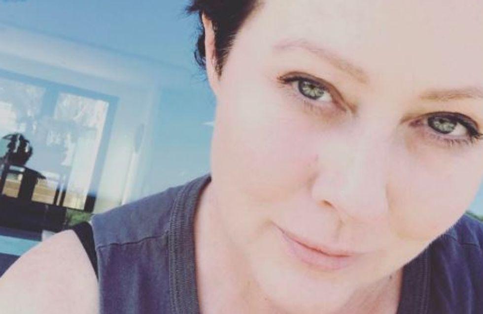 Shannen Doherty se livre dans un message saisissant sur la rémission (photos)