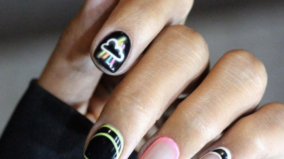 These Glow In The Dark Nails Are Lighting Up Our Lives Right Now