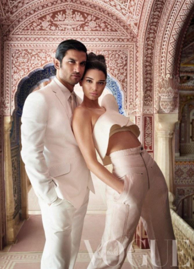 Kendall Jenner crée la polémique en couverture du VOGUE India