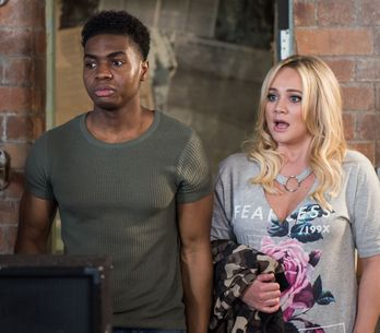 Hollyoaks 18/05 - Leela And Zack Do The Walk Of Shame