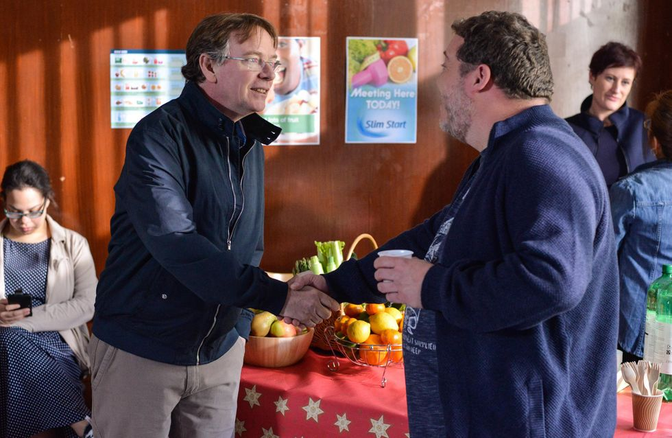 Eastenders 16/05 - Ian Attends His Slimming Club