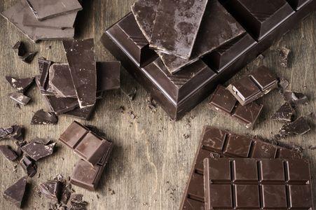 Chocolate negro con al menos 85% de cacao